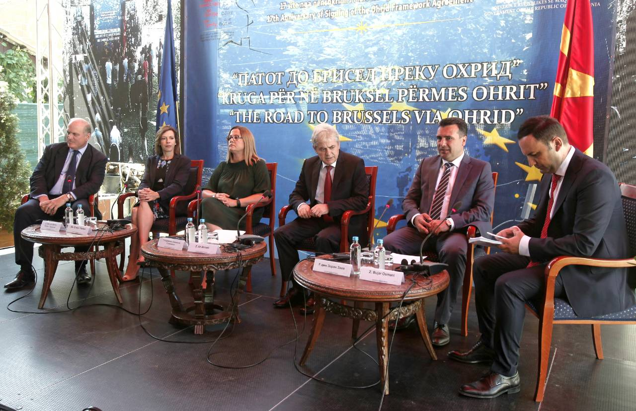 Ohrid Framework Agreement 17th anniversary - Upcoming referendum 'key' for Macedonia's future