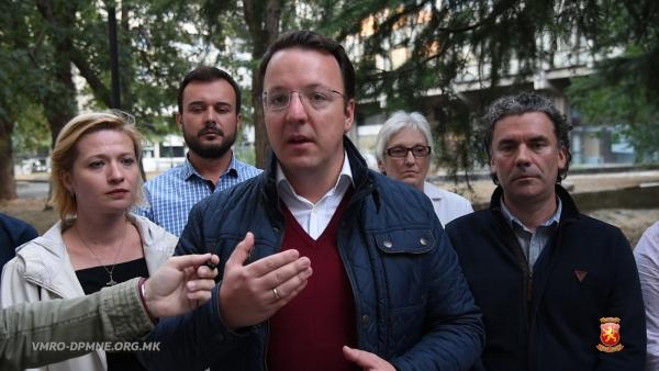 VMRO-DPMNE accuses of 'Zaev, Vice and Mijalkov' coalition