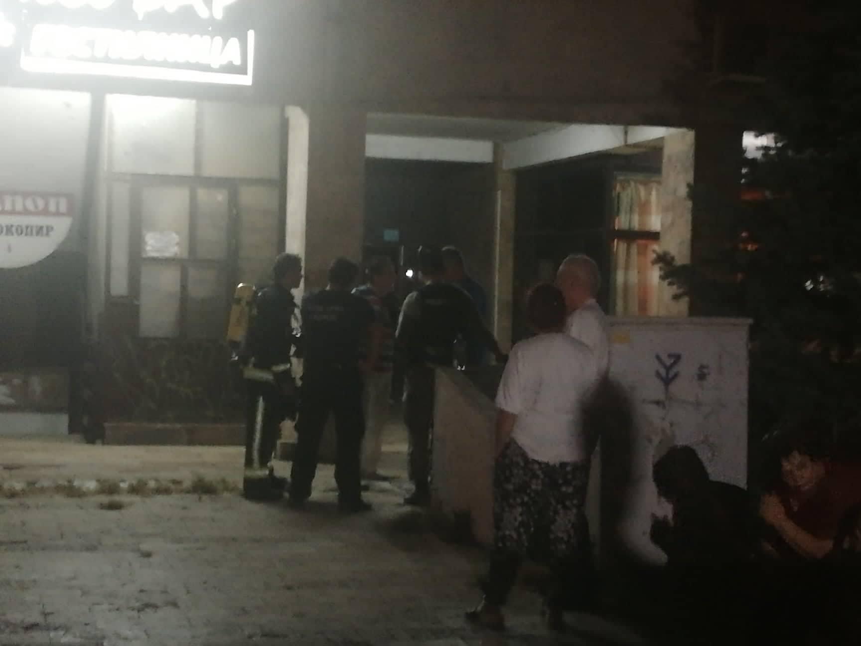 Era e pelenave në një banesë në Aerodrom ngriti në këmbë policinë  ARM në dhe zjarrfikësit