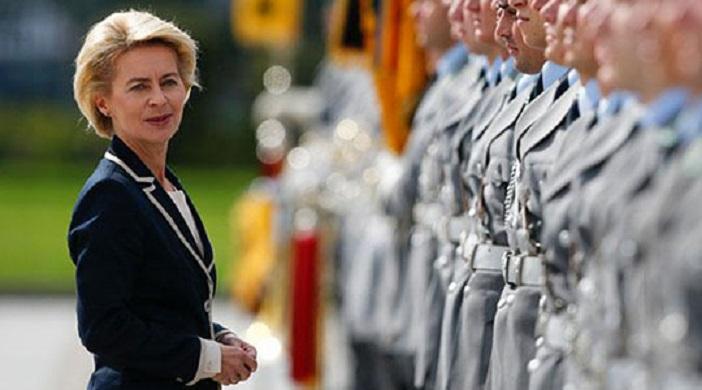 Ministrja gjermane e Mbrojtjes për vizitë në Maqedoni