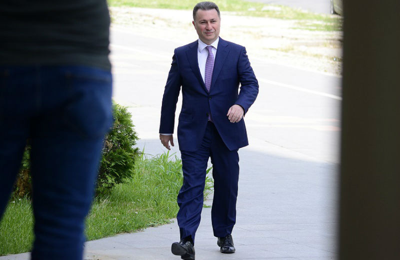 Court issues arrest order for former PM Gruevski