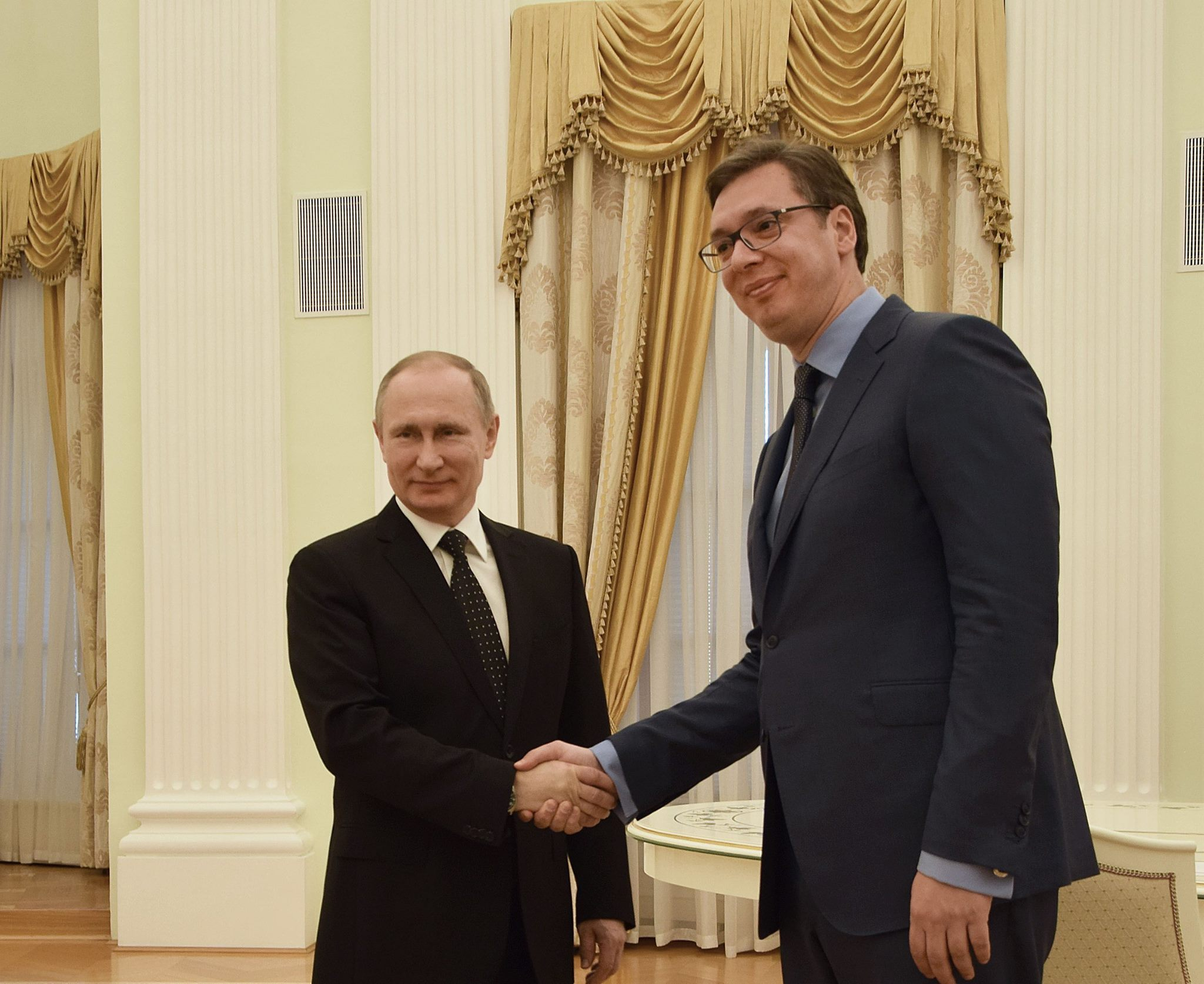 The majority of political parties support Putin's visit to Serbia