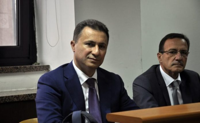 Gruevski denies any involvement in the violent events