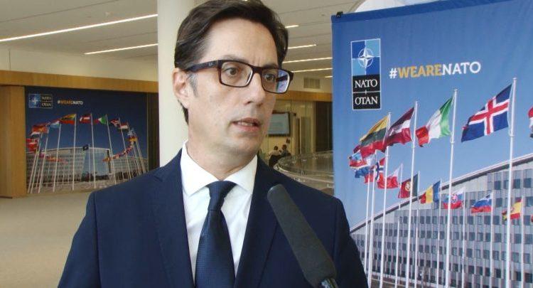 Pendarovski  Maqedonia anëtare e NATO s në fillimin e vitit 2020
