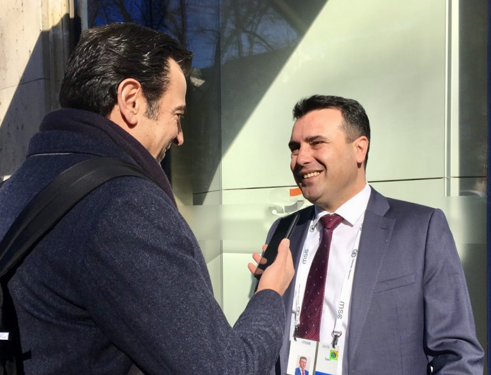 """Zaev: The aircraft that will bring me to Athens will write """"Republic of North Macedonia"""""""