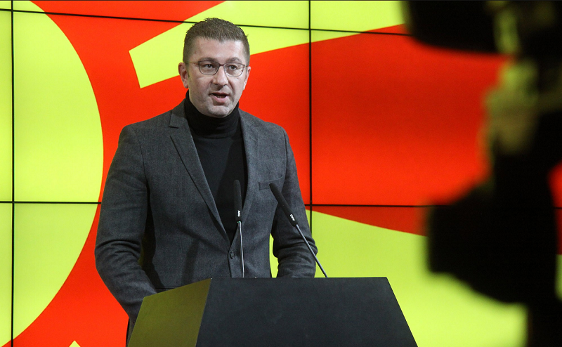 Mickoski: Zaev orders murders, I know what I'm talking about