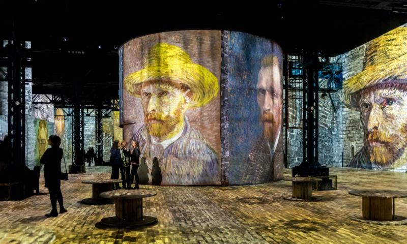 Париз: Отворена првата дигитална изложба за славниот сликар Ван Гог
