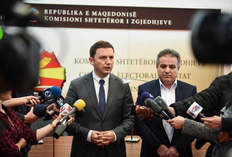 Османи во ДИК: Фер и слободни избори еден од условите за позитивна одлука од ЕУ