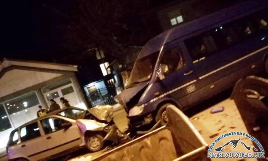Повредени 11 лица во сообраќајка во Прилеп