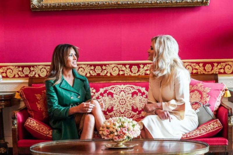 Бринета и русокоса во Белата куќа: Словенката Меланија или Чехинката Моника?