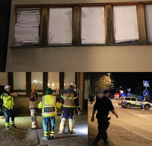 Експлозија во Стокхолм, петмина повредени