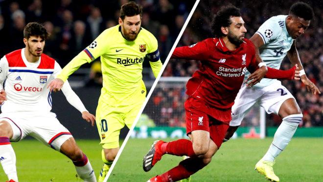 Ливерпул гостува кај Баерн, Лион против Барселона ќе брка ново изненадување во осминафиналето од ЛШ