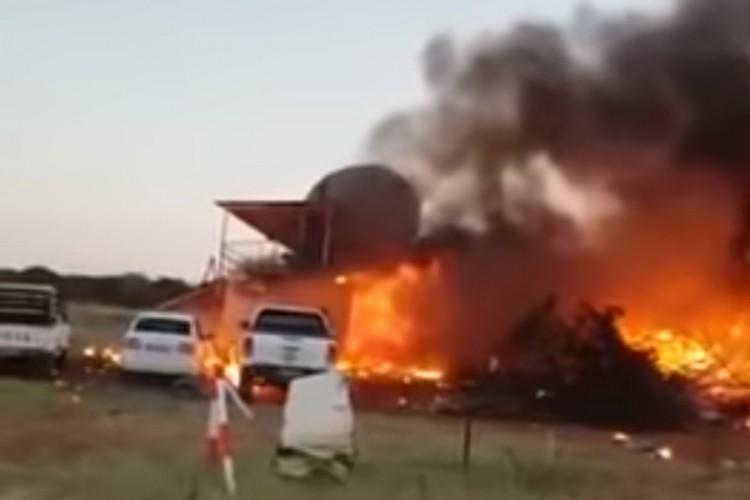 (ВИДЕО) Пијан маж со украден авион се обиде да ја убие поранешната сопруга