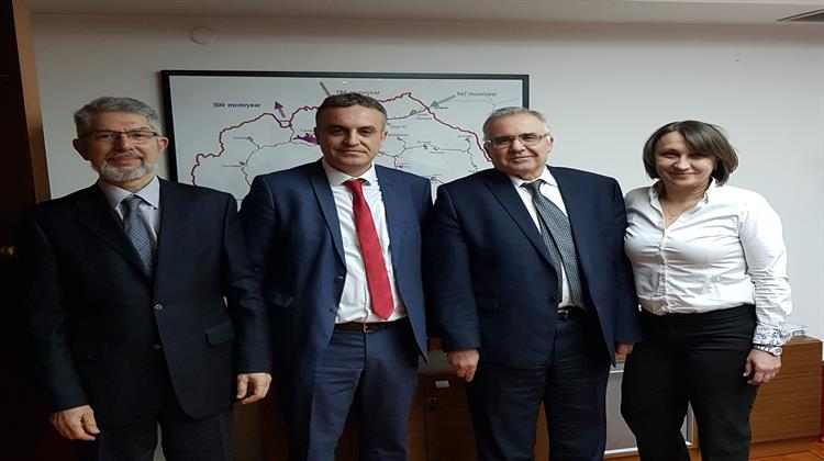 """The gas pipeline """"Nea Mesimvria-Northern Macedonia"""" is in the works"""