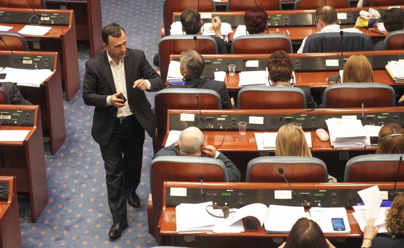 Собранието усвои повеќе закони вратени од Иванов