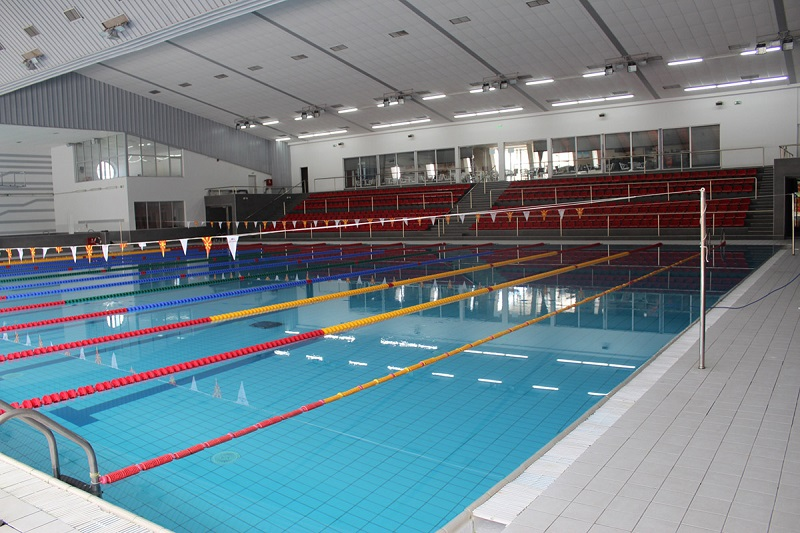 """Уште еден нов пливачки базен во СЦ """"Борис Трајковски"""""""