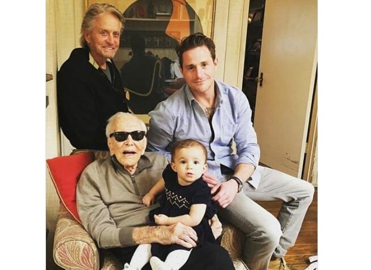 Мајкл Даглас - горд на семејството
