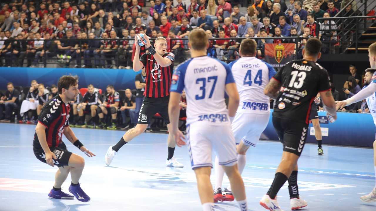 Вардар со втора победа над Загреб го потврди четвртфиналето во ЛШ