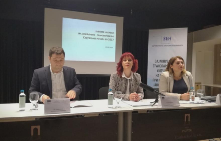 Скопските општини во 2017-та правеле јавни набавки без оглас