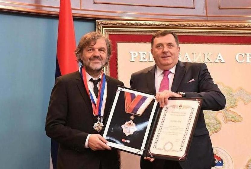 Емир Кустурица стана советник на Додик