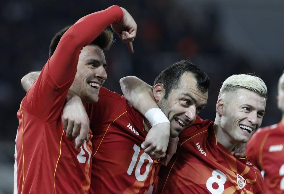 По половина час Македонија води 2:0 со Летонија