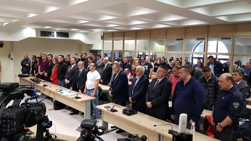 Gjithsej 211 vite dënim me burg për 16 të akuzuarit për  27 prillin