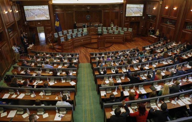 Косовското Собрание ја усвои Платформата за преговори со Србија
