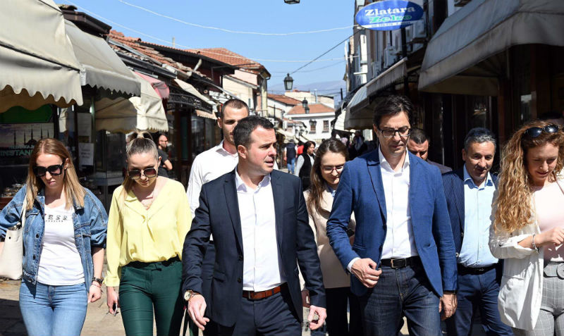 The road to Vodno begins and ends in Ohrid