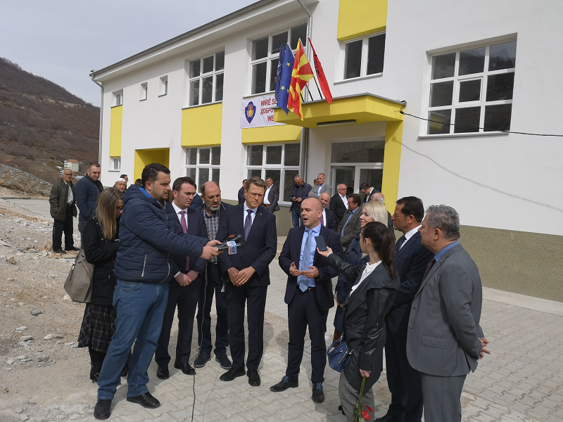 Тевдовски: Годинава инвестирани три милиони евра за капитални проекти преку МСИП