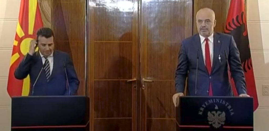 Zaev-Rama meeting in Tirana: Cooperation between the two countries to intensify