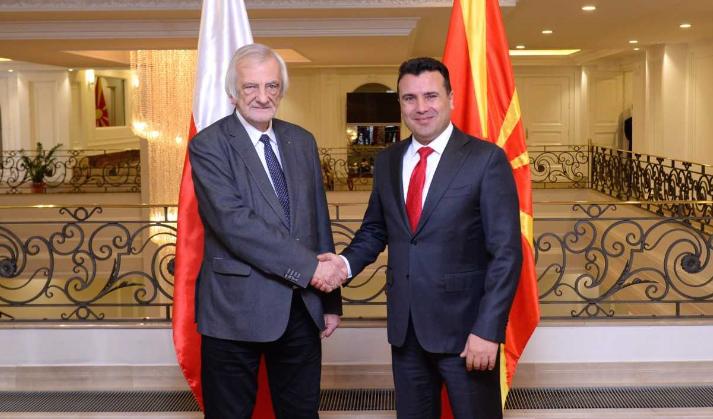 Заев-Терлечки: Полска наскоро ќе го ратификува Пртоколот за НАТО