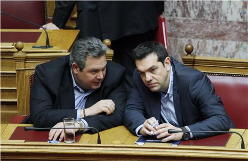 Kammenos: Tsipras is aware of an alternative agreement proposal, but doesn't approve it