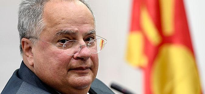 Greek FM Nikos Kotzias submits resignation