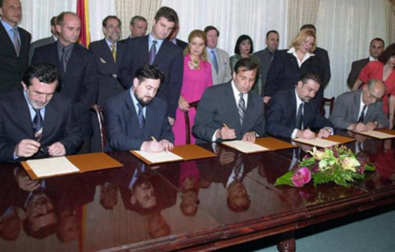 17th anniversary of the Ohrid Framework Agreement on Monday