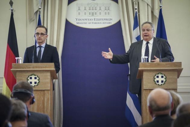 Kotzias and Maas call the name agreement historic for stability in the region
