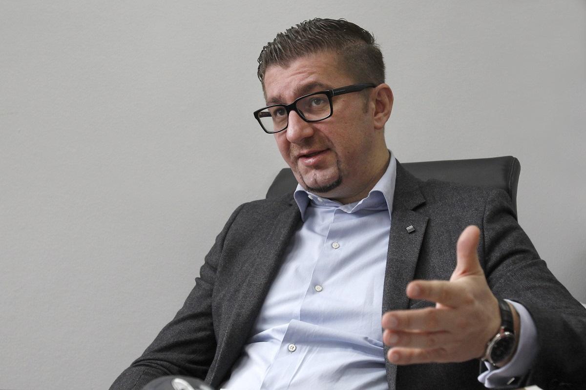Mickoski wants to address the Parliament