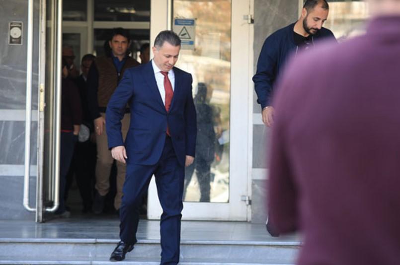 Court rejects Nikola Gruevski's last appeal