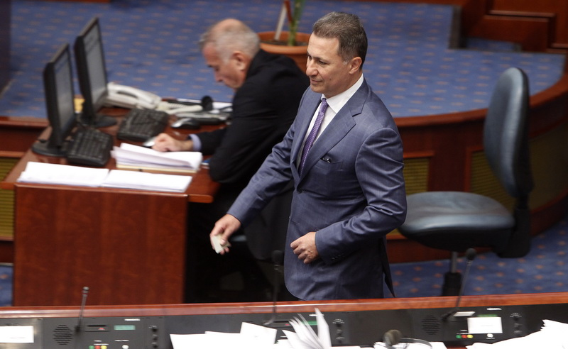 Parliament to hold session on Gruevski's mandate on Thursday