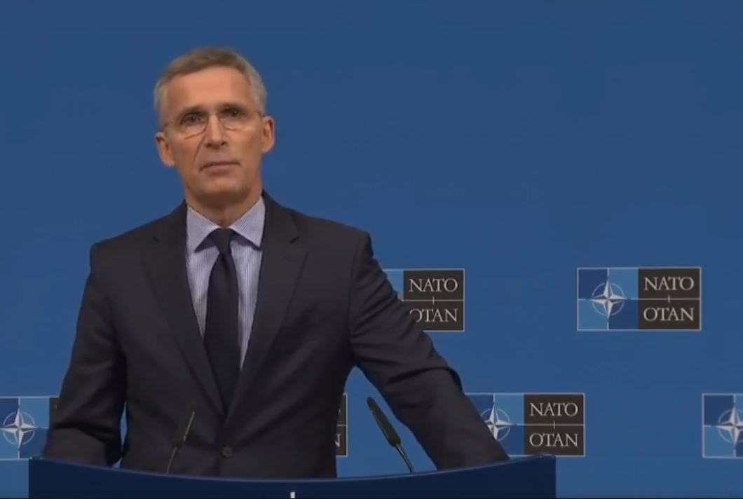 NATO's chief issues a warning about the creation of Kosovo's army