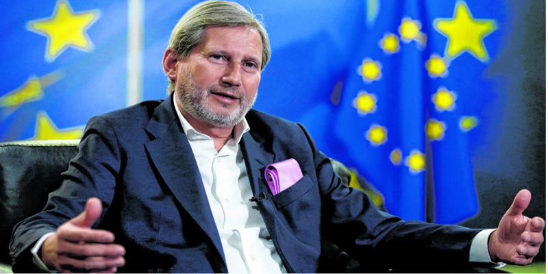 Hahn: I applaud VMRO-DPMNE reformers' courage in voting for the Prespa Agreement