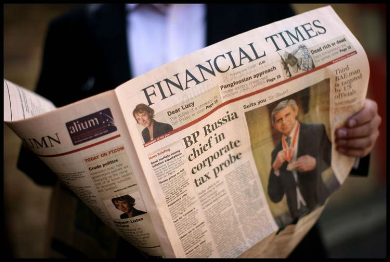 Financial Times: Macedonian solution is a positive step for Europe