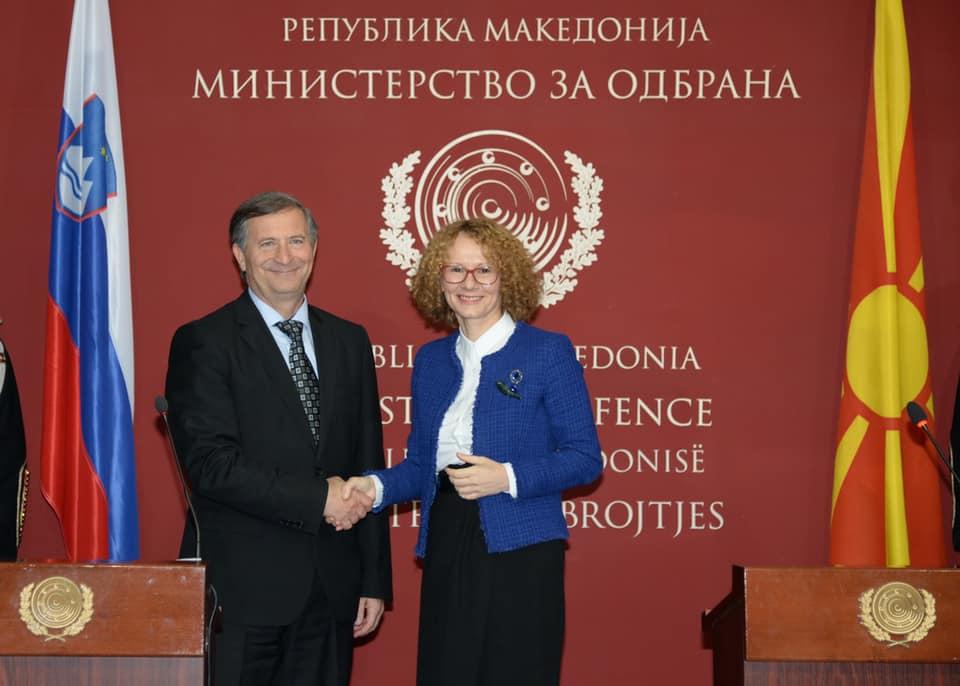 Erjavec: Slovenia gives support to Macedonia for NATO membership