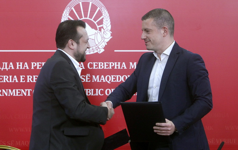 The first agreement between Greece and North Macedonia has been signed