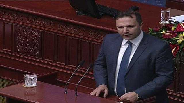 Oliver Spasovski survives no-confidence vote in Parliament